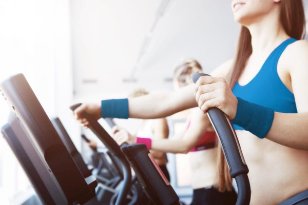 Strength Tek Woman On Treadmill